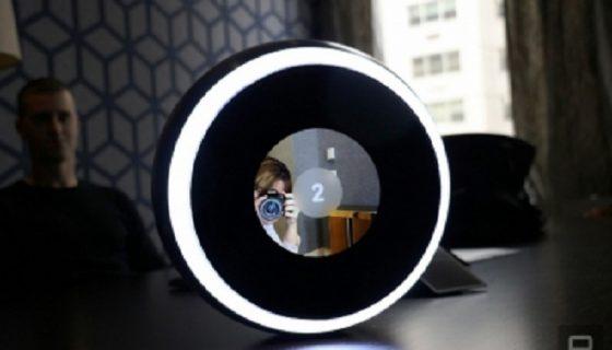 اولین دوربین سلفی توپی جهان