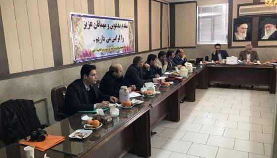 جلسه شورای موسسین اداره کل اموزش وپرورش